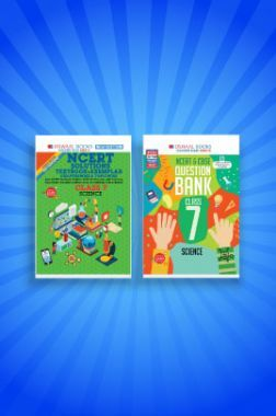 Oswaal NCERT & CBSE Question Bank + Problems - Solutions (Textbook + Exemplar) For Class - VII (Set of 2 Books) Science (For 2021 Exams)