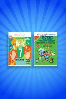 Oswaal NCERT & CBSE Question Bank + Problems - Solutions (Textbook + Exemplar) For Class - VII (Set of 2 Books) Mathematics (For 2021 Exams)