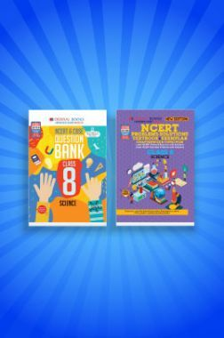 Oswaal NCERT & CBSE Question Bank + Problems - Solutions (Textbook + Exemplar) For Class - VIII (Set of 2 Books) Science (For 2021 Exams)