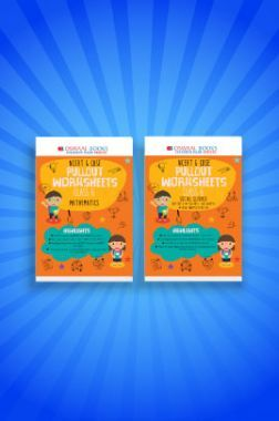 Oswaal NCERT & CBSE Pullout Worksheets For Class - VI (Set of 2 Books) Mathematics, Social Science (For 2021 Exams)