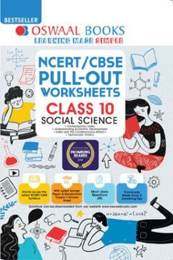 Oswaal NCERT/CBSE Pullout Worksheets Class 10 Social Science (For 2021 Exam)