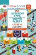 Oswaal ISC Question Bank Chapterwise & Topicwise Solved Papers Class 12 Accounts (Reduced Syllabus) (For 2021 Exam)