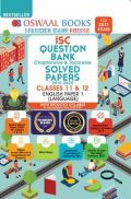 Oswaal ISC Question Bank Chapterwise & Topicwise Solved Papers English Paper - 1 Class 12 Reduced Syllabus For 2021 Exam