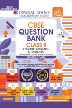 Oswaal CBSE Class 9 English Language & Literature Question Bank (Reduced Syllabus) (For 2021 Exam)