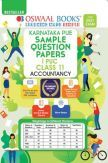Oswaal Karnataka PUE Sample Question Papers I PUC Class 11 Accountancy Book (For 2021 Exam)