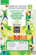 Oswaal Karnataka PUE Sample Question Papers I PUC Class 11 Biology Book (For 2021 Exam)