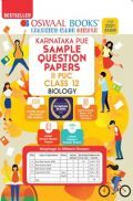 Oswaal Karnataka PUE Sample Question Papers II PUC Class 12 Biology Book (For 2021 Exam)