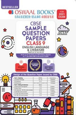 Oswaal CBSE Sample Question Paper Class 9 English Language And Literature Book (Reduced Syllabus For 2021 Exam)
