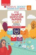 Oswaal ICSE Sample Question Papers Class 9 Physics Book (Reduced Syllabus For 2021 Exam)