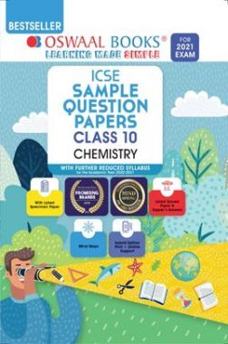 Oswaal ICSE Sample Question Papers For Class 10 Chemistry Book (Reduced Syllabus for 2021 Exam)