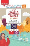 Oswaal ICSE Sample Question Papers For Class 9 Biology Book (Reduced Syllabus for 2021 Exam)