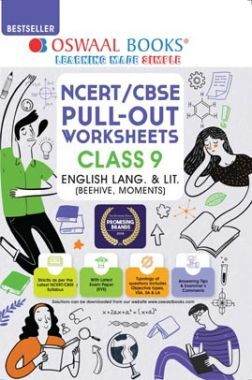 Oswaal NCERT & CBSE Pullout Worksheets For Class 9 English Language and Literature Book (For 2021 Exam)