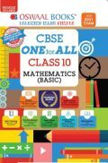 Oswaal CBSE One for All For Class 10 Mathematics Basic (Reduced Syllabus) (For 2021 Exam)