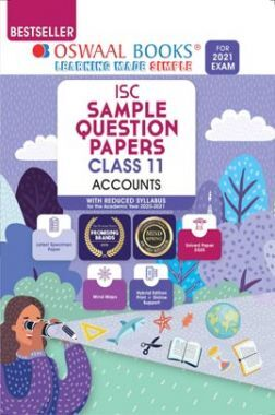 Oswaal ISC Sample Question Paper For Class 11 Accountancy Book (For 2021 Exam)