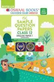 Oswaal ISC Sample Question Papers For Class 12 English Papers 1 Language Book (For 2021 Exam)