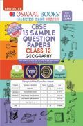 Oswaal CBSE Sample Question Papers For Class 12 Geography Book (Reduced Syllabus for 2021 Exam)