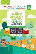 Oswaal ISC Sample Question Papers Class 12 Accounts Book (For 2021 Exam)