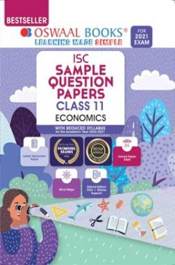 Oswaal ISC Sample Question Paper Class 11 Economics Book (For 2021 Exam)