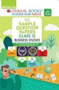 Oswaal ISC Sample Question Papers Class 12 Business Studies Book (For 2021 Exam)