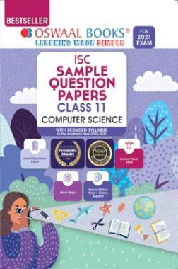 Oswaal ISC Sample Question Paper Class 11 Computer Science Book (For 2021 Exam)