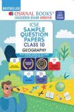 Oswaal ICSE Sample Question Papers Class 10 Geography Book (Reduced Syllabus for 2021 Exam)