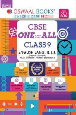 Oswaal CBSE One for All Class 9 English Lang. & Lit. (Reduced Syllabus) (For 2021 Exam)