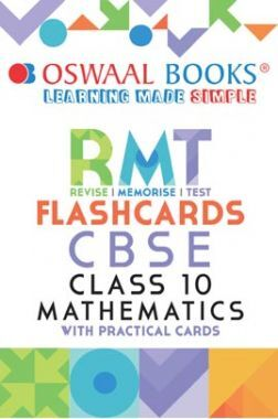 Oswaal CBSE RMT Flashcards Class 10 Mathematics (For 2021 Exam)