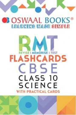 Oswaal CBSE RMT Flashcards Class 10 Science (For 2021 Exam)