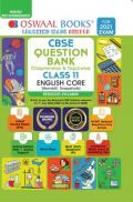Oswaal CBSE Question Bank Chapterwise & Topicwise For Class 11 English Core (Reduced Syllabus) (For 2021 Exam)