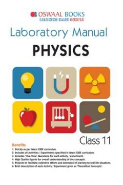 Oswaal CBSE Laboratory Manual Class 11 Physics Book (For 2021 Exam)