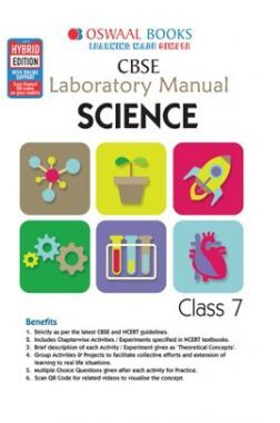 Oswaal CBSE Laboratory Manual Class 7 Science Book (For 2021 Exam)