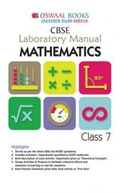 Oswaal CBSE Laboratory Manual Class 7 Mathematics Book (For 2021 Exam)
