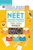 Oswaal NEET Solved Papers Chapterwise & Topicwise Physics Book (For 2021 Exam)