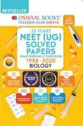 Oswaal NEET (UG) Solved Papers Chapterwise & Topicwise Biology Book (For 2021 Exam)