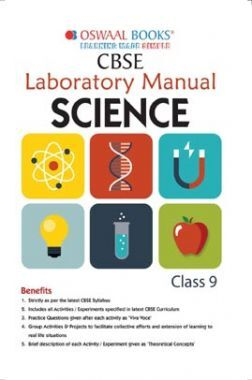 Oswaal CBSE Laboratory Manual Class 9 Science Book (For 2022 Exam)