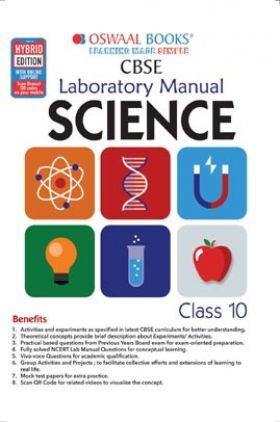 Oswaal CBSE Laboratory Manual Class 10 Science Book (For 2022 Exam)