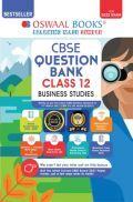 Oswaal CBSE Question Bank Class 12 Business Studies Book Chapterwise & Topicwise Includes Objective Types & MCQ's (For 2022 Exam)