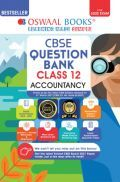 Oswaal CBSE Question Bank Class 12 Accountancy Book Chapterwise & Topicwise Includes Objective Types & MCQ's (For 2022 Exam)