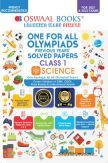 Oswaal One For All Olympiad Previous Years Solved Papers Class-1 Science Book (For 2022 Exam)