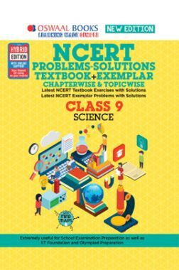 Oswaal NCERT (Solutions Textbook + Exemplar) For Class 9  Science  (For 2022 Exam)