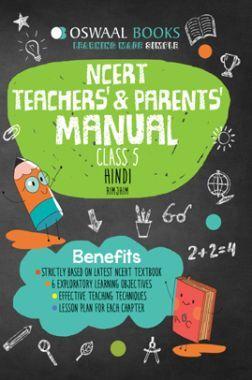 Oswaal NCERT Teachers & Parents Manual Hindi Rimjhim Class 5 (For 2022 Exam)