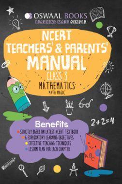 Oswaal NCERT Teachers & Parents Manual Mathematics Math Magic Class 3 (For 2022 Exam)