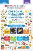 Oswaal One For All Olympiad Previous Years Solved Papers Class-1 Mathematics Book (For 2022 Exam)