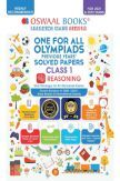 Oswaal One for All Olympiad Previous Years Solved Papers Class-1 Reasoning Book (For 2022 Exam)