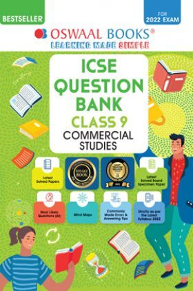 Oswaal ICSE Question Bank Class 9 Commercial Studies Book Chapterwise & Topicwise (For 2022 Exam)