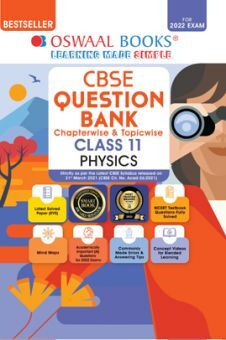 Oswaal CBSE Question Bank Class 11 Physics Book Chapterwise & Topicwise (For 2022 Exam)