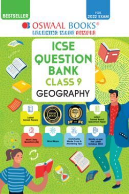 Oswaal ICSE Question Bank Class 9 Geography Book Chapterwise & Topicwise (For 2022 Exam)