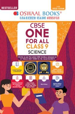 Oswaal CBSE One For All Science Class 9 (For 2022 Exam)