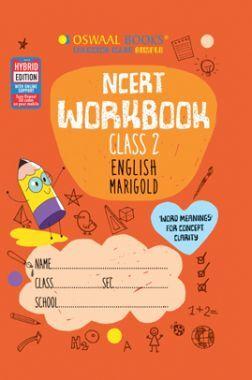 Oswaal NCERT Workbook Class 2 English Marigold Book (For 2022 Exam)