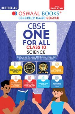 Oswaal CBSE One For All Science Class 10 (For 2022 Exam)